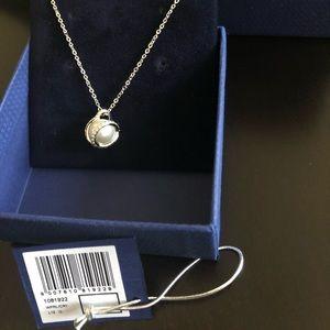 NWT Swarovski Pearl Necklace